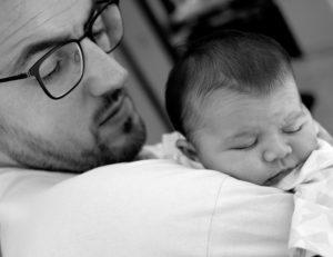 Portrait de Rose et son papa