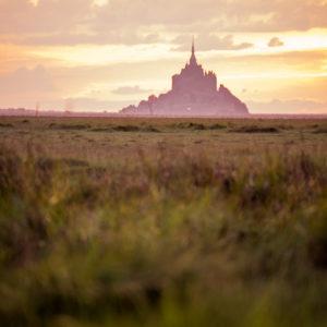 Baie du Mont-Saint-Michel Normandie