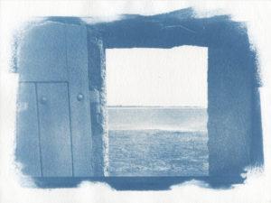 Fenêtre sur la mer de Beg Lann Morbihan