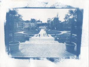Jardin du palais St Georges à Rennes
