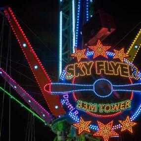 Sky Flyer manège fête foraine à Rennes