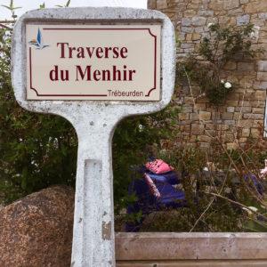 Traverse du menhir Trébeurden